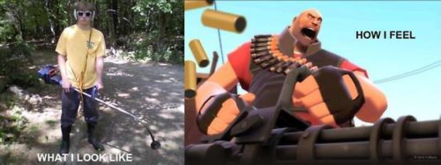 Team Fortress 2: realidade e fantasia (Foto: Reprodução)