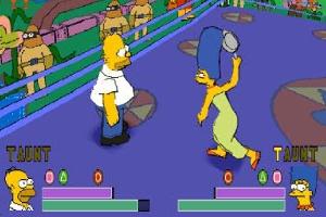 The Simpsons Wrestling (Foto: Divulgação)