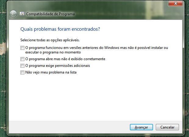Solução de problemas de compatibilidade (Foto: Reprodução)