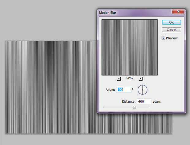 """Passos 6 e 7. Ajustando o filtro """"Blur"""" (Foto: Reprodução)"""