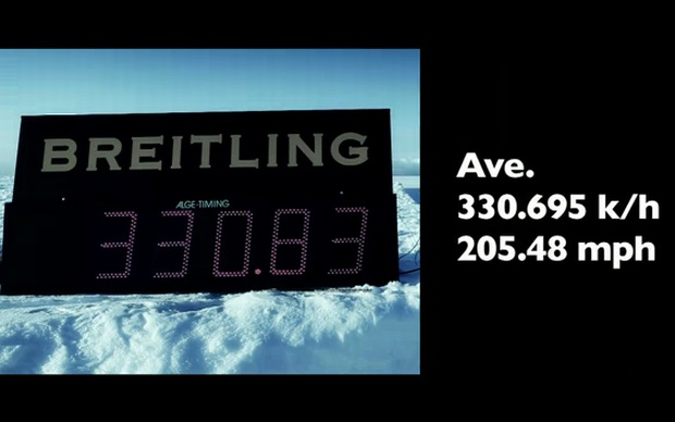 Bentley bate recorde de velocidade (Foto: Divulgação)