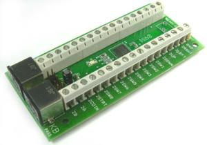 Encoder de 16 inputs, para 2 jogadores (Foto: Divulgação)