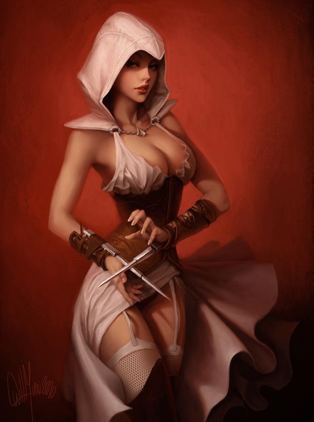 Assassin's Creed versão feminina (Foto: GeekTirant)