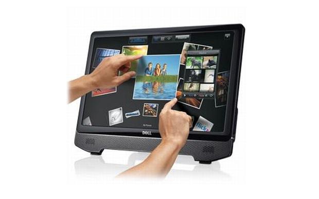 Monitor touchscreen da Dell (Foto: Divulgação)