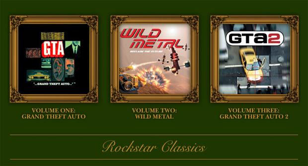Clássicos da Rockstar (Foto: Divulgação)