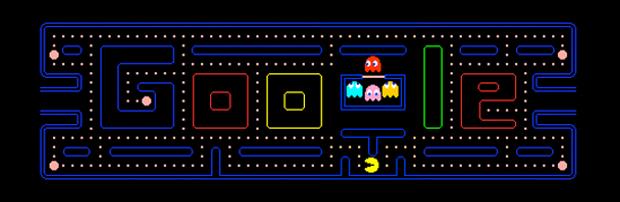 Pac-Man do Google (Foto: Divulgação)