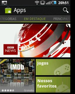 Novo Android Market (Foto: Reprodução)