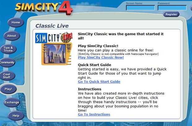 SimCity Classic: grátis aqui (Foto: Reprodução)