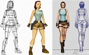 Comparação entre Tomb Raider de 1996 e Anniversary de 2007 (Foto: IGN)
