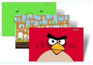 Tema do Angry Birds para Windows 7 (Foto: Divulgação)