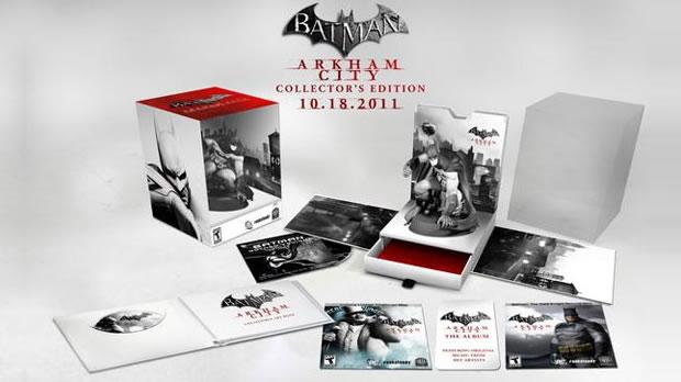 Edição de colecionador do Batman: Arkham City (Foto: Divulgação)