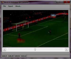 Convertendo arquivo de vídeo para GIF animado (Foto: Reprodução / Teresa Furtado)