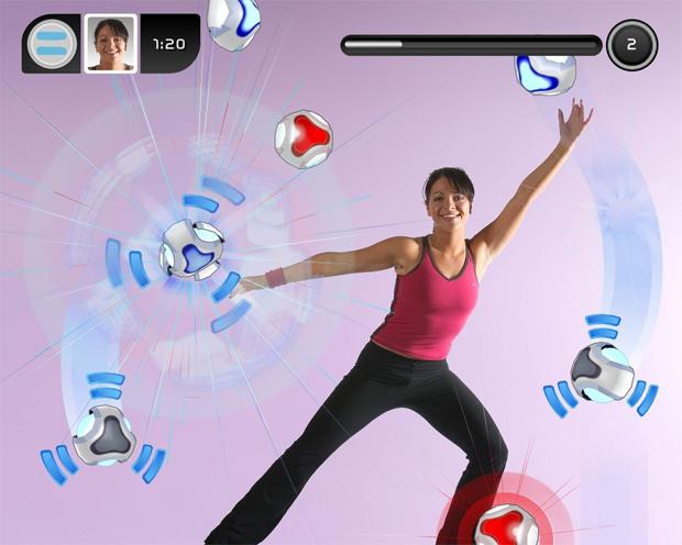 Exercícios com o EyeToy (Foto: Divulgação)