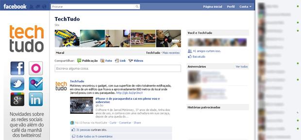 Novo modelo de chat do Facebook (Foto: Reprodução/TechTudo)