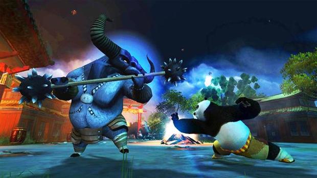 Golpes de kung fu em Kung Fu Panda 2 (Foto: Divulgação)