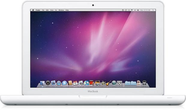 Macbook branco de 13 polegadas (Foto: Divulgação)