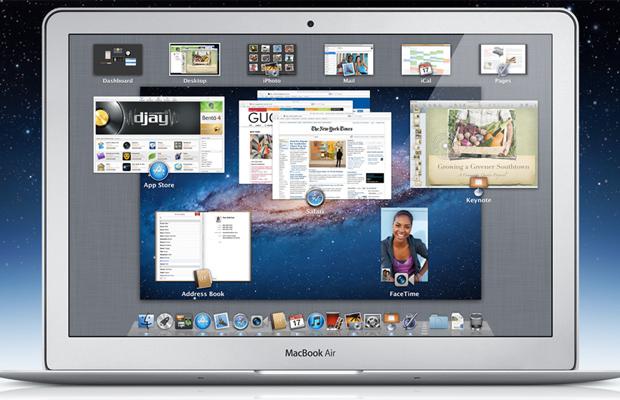 Mission Control do OS X Lion (Foto: Reprodução)