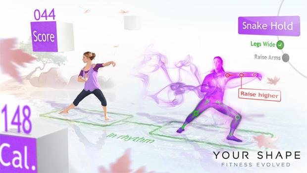 Your Shape no Kinect (Foto: Divulgação)
