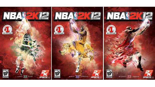 Capas para o NBA 2K12 (Foto: Divulgação)