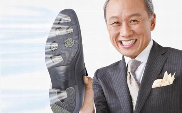 Sapato com ar-condicionado (Foto: Divulgação)