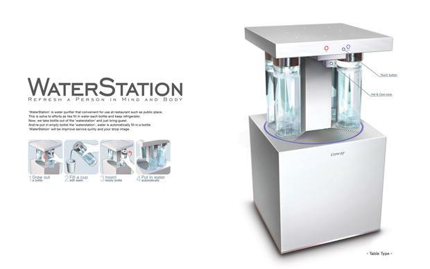 WaterStation (Foto: Divulgação)