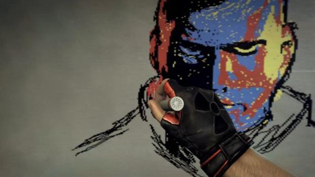 Artista desenha o Comandante Shepard em Duke Nukem Forever (Foto: Divulgação)