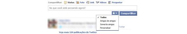 Segmentando contatos no Facebook (Foto: Reprodução/Teresa Furtado)