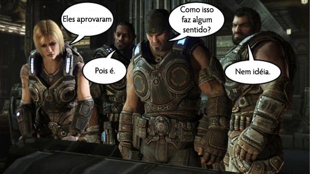 Gears of War 3 será primeiro da série lançado na Alemanha (Foto: Joystiq | Reprodução: Rafael Monteiro)