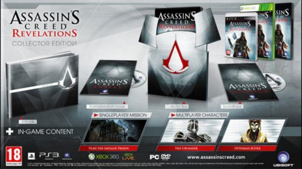 Edições de colecionador de Assassin's Creed Revelation (Foto: Divulgação)