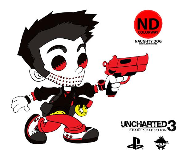 Boneco de Uncharted 3 (Foto: Divulgação)