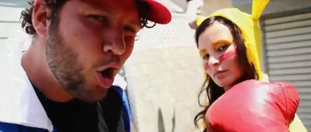 Ash Badboy e uma linda Pikachu (Foto: Reprodução)