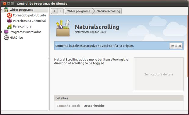 Instalando o Natural Scrolling (Foto: Divulgação)