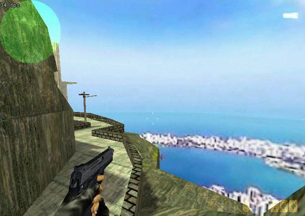 Counter Strike com o mapa da cidade do Rio de Janeiro (Foto: Divulgação)