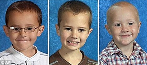 As crianças desaparecidas (Foto: MailOnline)