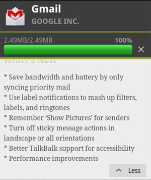 Gmail para Android (Foto: Divulgação)