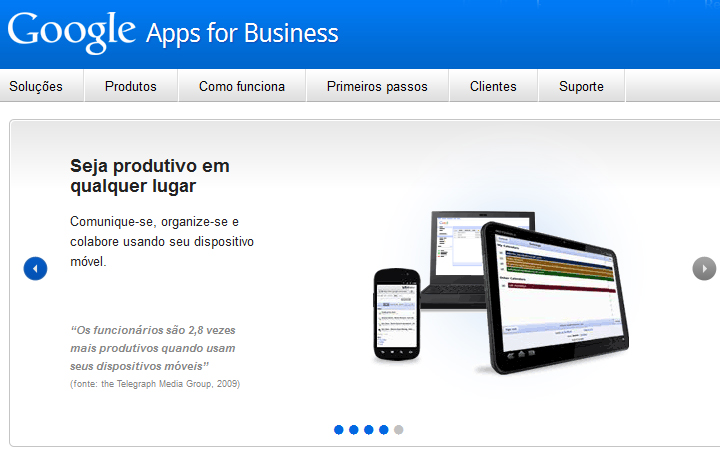 Google Apps (Foto: Reprodução/Teresa Furtado)