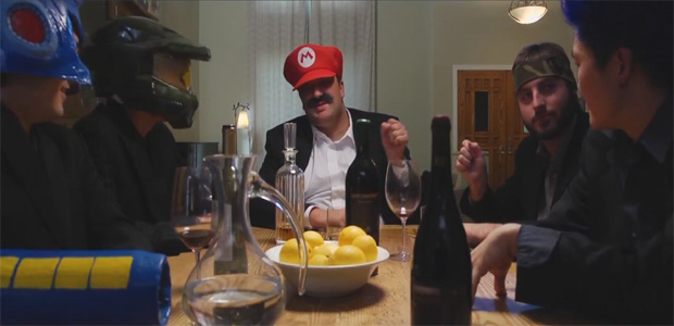 Mario enfrenta Angry Birds em paródia de O Poderoso Chefão (Foto: Divulgação)