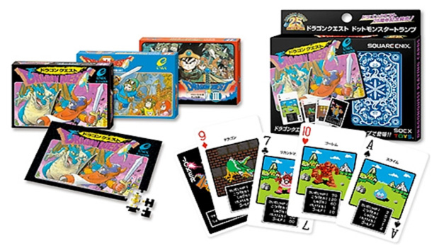 Dragon Quest Dot Monster Trump Playing Cards (Foto: Destructoid)