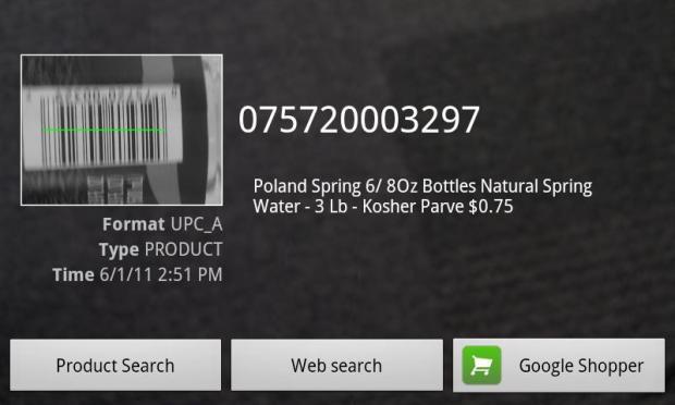 Leitura do código de barras de um produto (Foto: Divulgação)