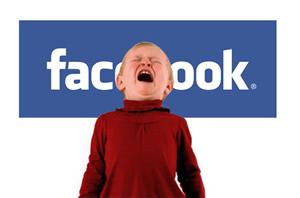 Seu filho no Facebook (Foto: Reprodução)