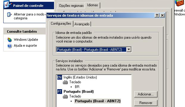 Configurando o idioma do teclado (Foto: Reprodução/TechTudo)