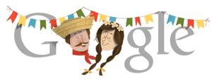 Doodle de Festa Junina (Foto: Divulgação)