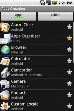 Lista de aplicativos instalados no smartphone (Foto: Divulgação)