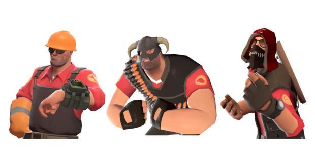 Novos itens de Team Fortress 2 (Foto: Divulgação)