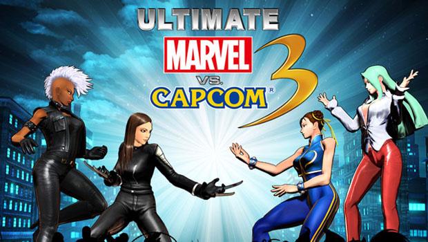 Pré-venda de Ultimate Marvel vs. Capcom 3 trará roupas para as damas (Foto: Destructoid)