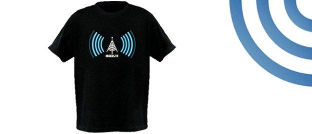 Camisa Wi-Fi (Foto: Divulgação)