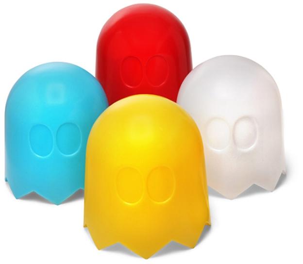 Luminária no formato dos fantasminhas do Pac-Man (Foto: Divulgação)