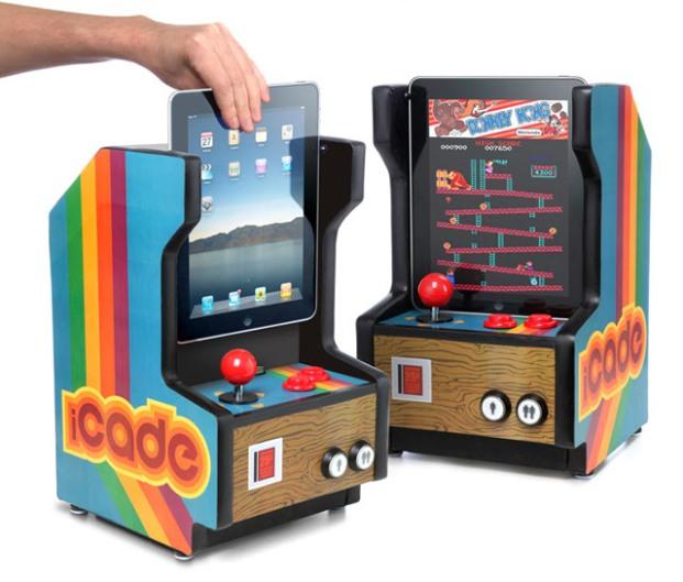 Dock para iPad em formato de arcade (Foto: Divulgação)