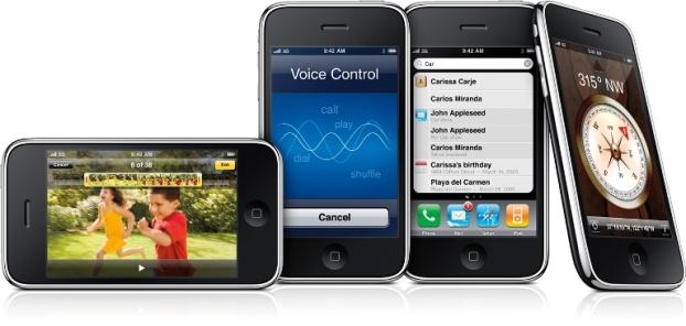 Apple iPhone 3GS (Foto: Divulgação)