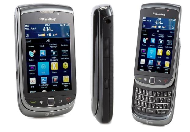 Blackberry Torch 9800 (Foto: Divulgação)